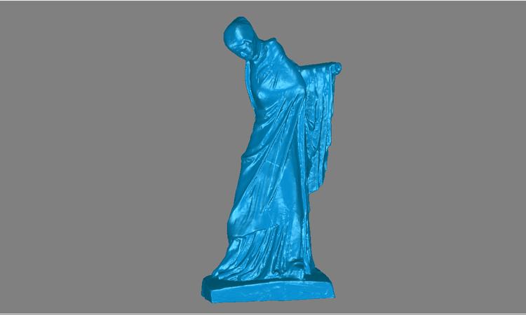 Conap 3D Reverse Engineering - CAD Modell einer Statue