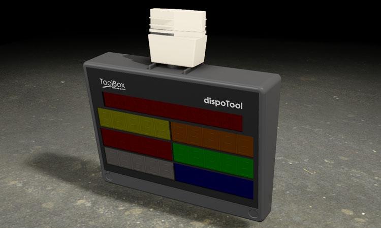 Conap 3D CAD Services - Gerendertes CAD Modell einer Toolbox