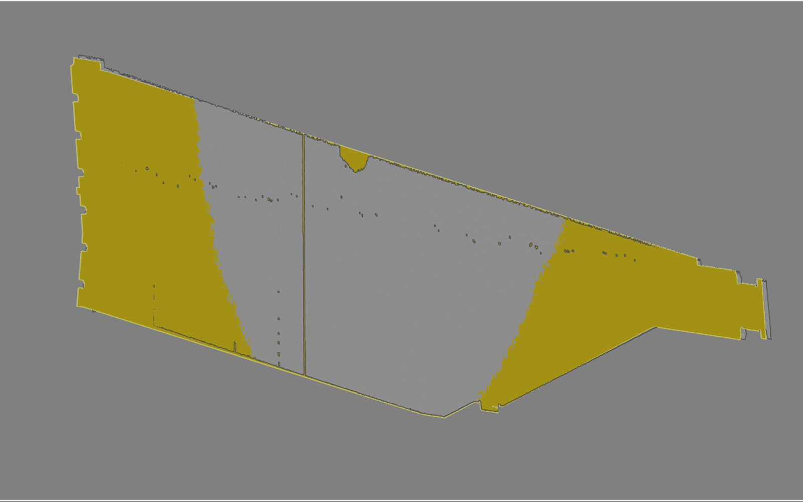 Conap 3D Qualitätskontrolle - Molybdänfolie auf dem Messtisch