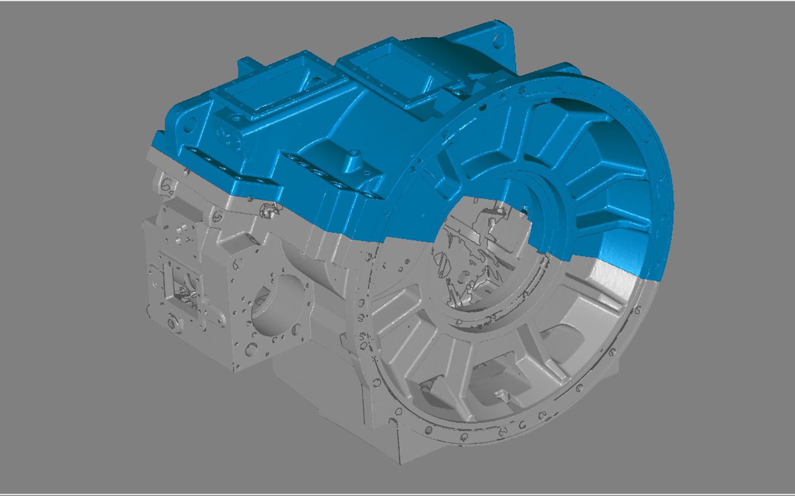 Conap 3D Reverse Engineering - Hardware Vorlage des Getriebegehäuses einer Windkraftanlage