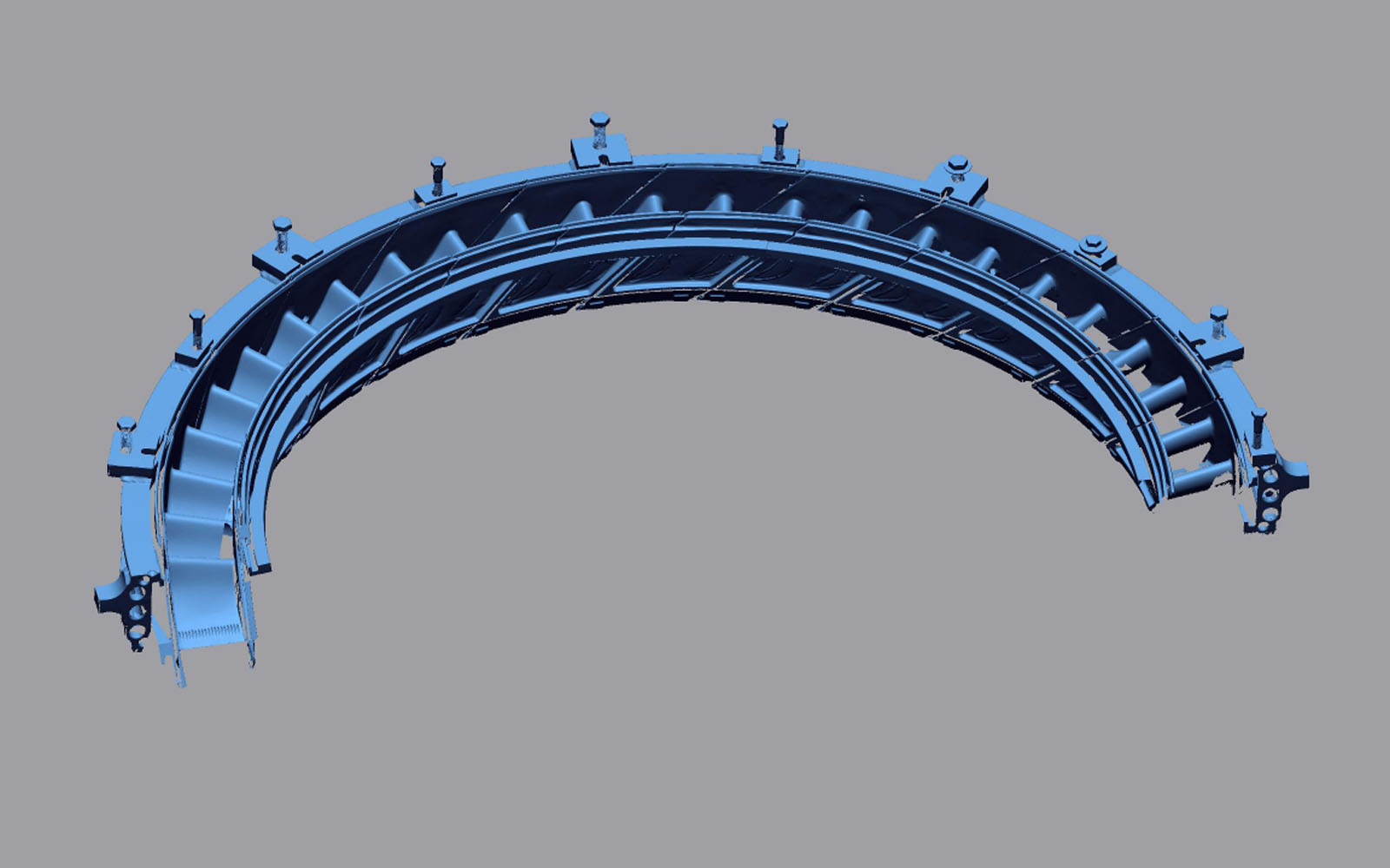 Conap 3D Reverse Engineering - Scan des Gussgehäuseteils