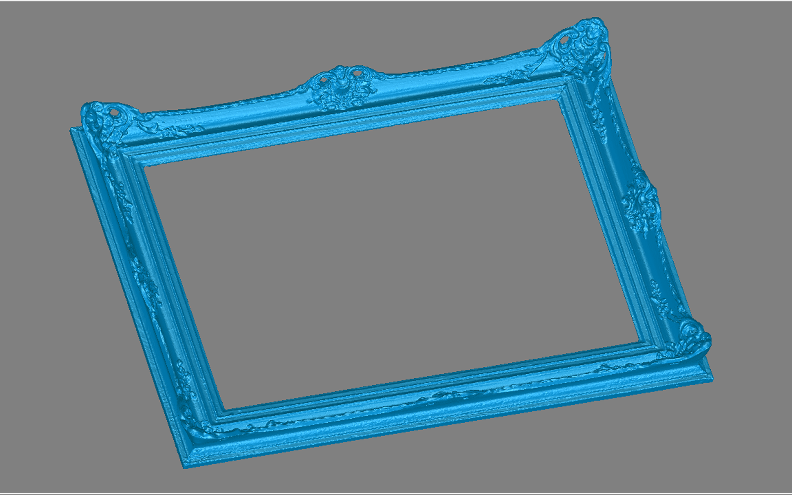 Conap 3D Reverse Engineering - CAD Modell eines historischen Bilderrahmens