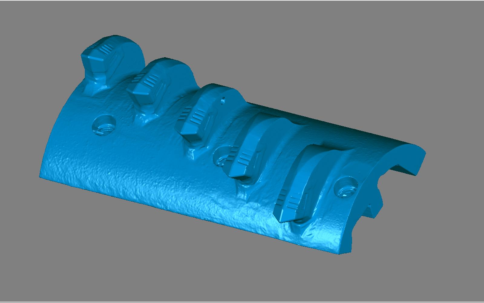 Conap 3D Reverse Engineering - CAD Modell eines Kohlebrechers