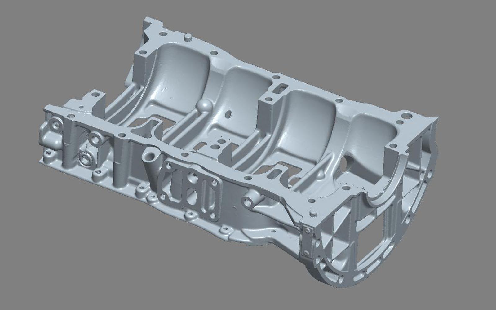 Conap 3D Reverse Engineering - Scan eines Ladderframes