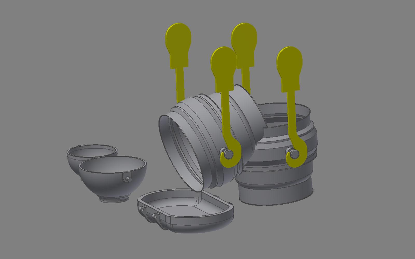Conap 3D Scanning Services - Giessvorgang im Hüttenwerk