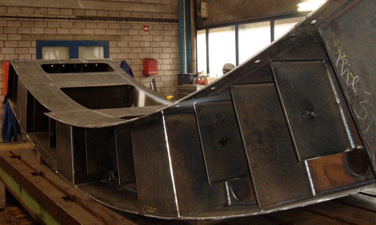Conap CAD Fertigungsplanung - Stahlbauteil