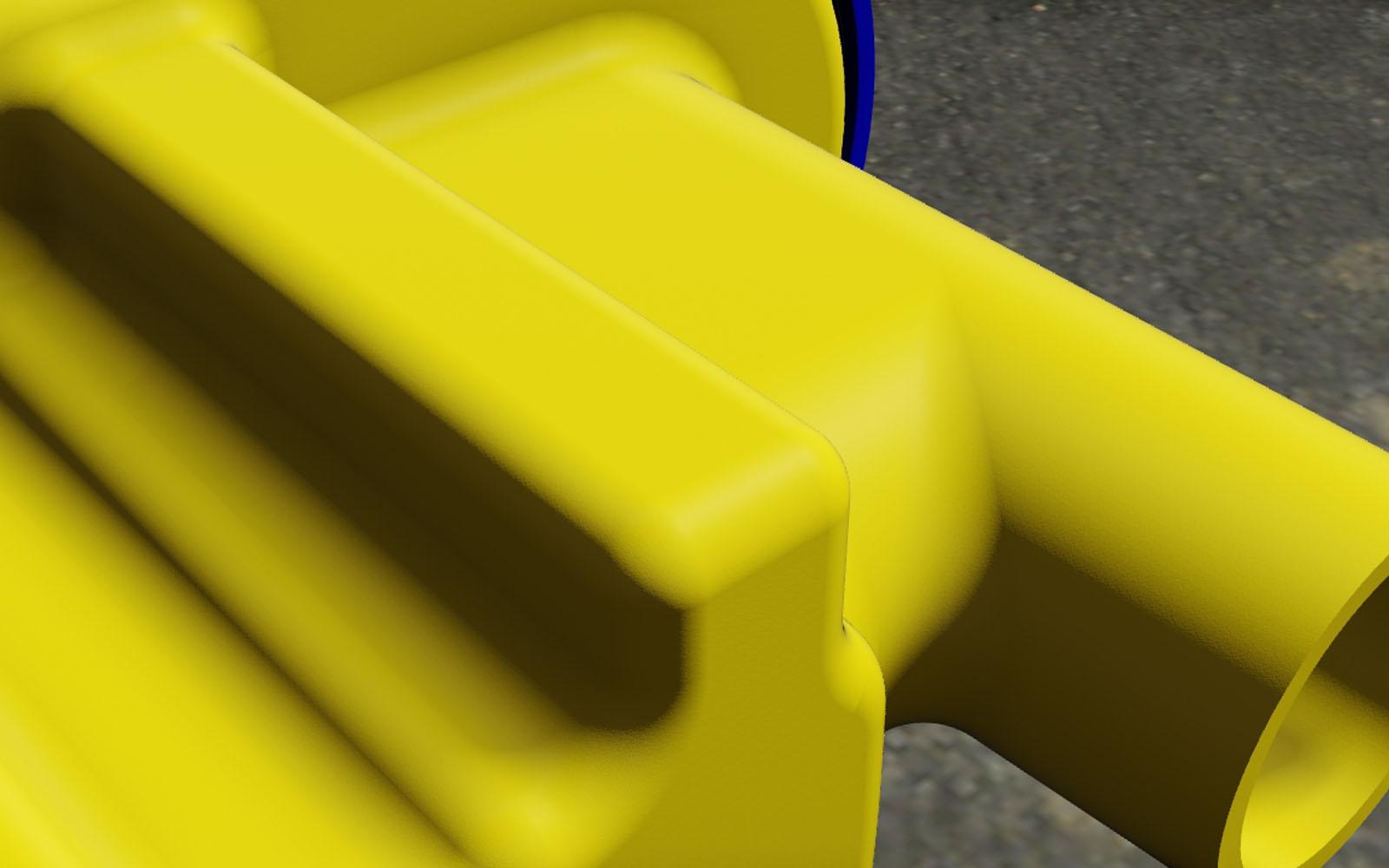 Conap CAD Konstruktionsbüro - CAD Modell eines Filtergehäuses