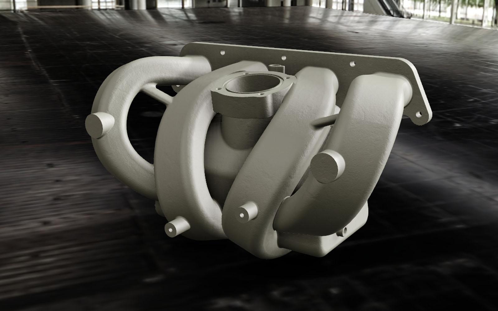 Conap CAD Konstruktionsbüro - CAD Modell eines Saugsystems